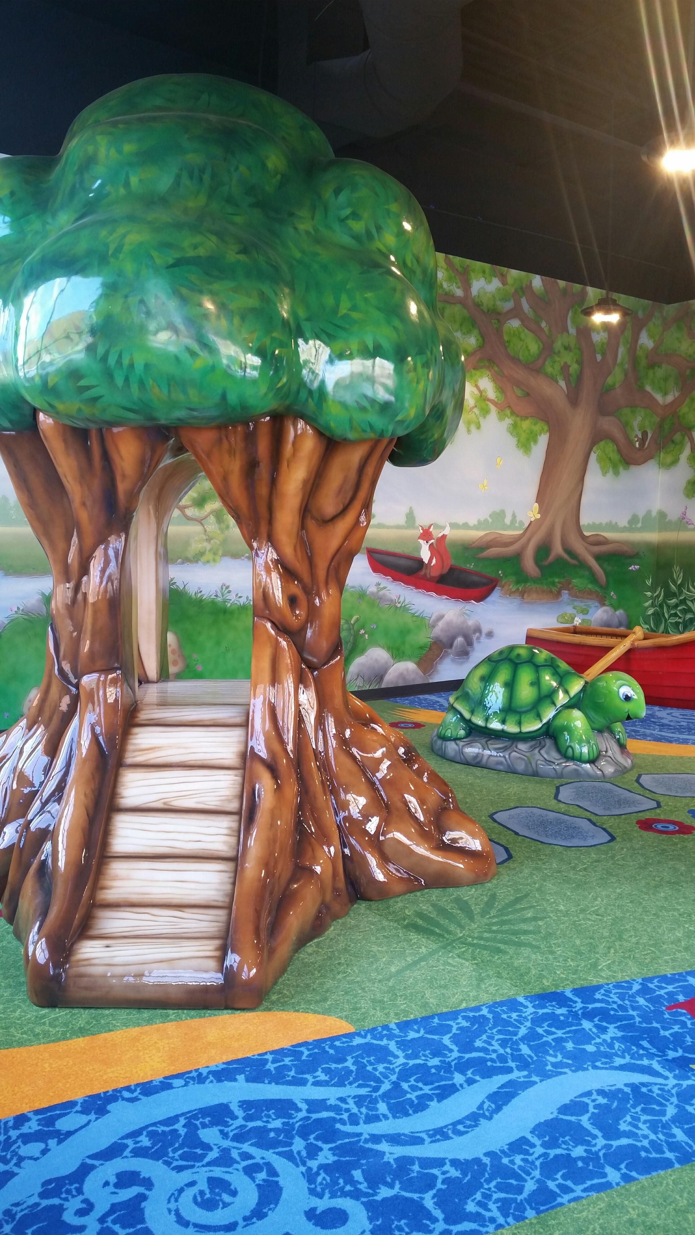3d Tree Turtle Playarea