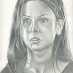 Amna Pencil Sketch