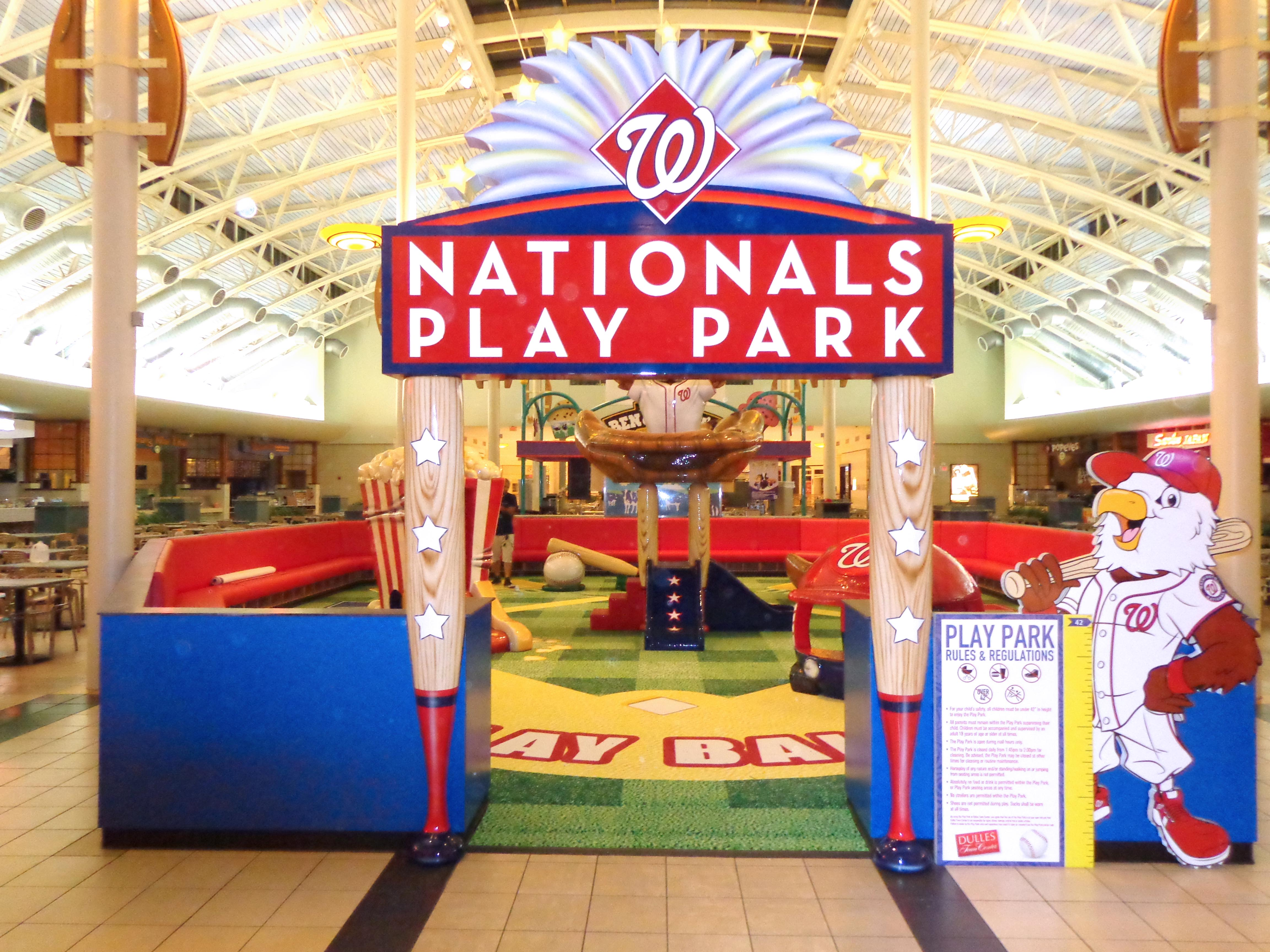 Dulles Washington Nationals Playarea