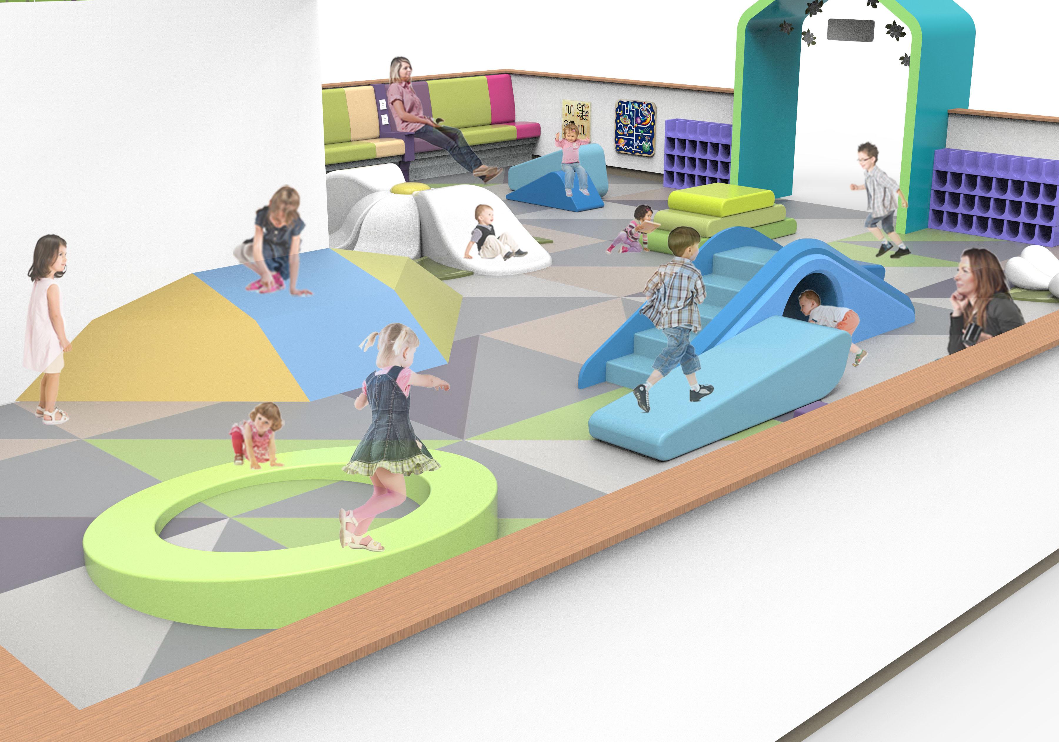 Northpark Playarea 3d Rendering