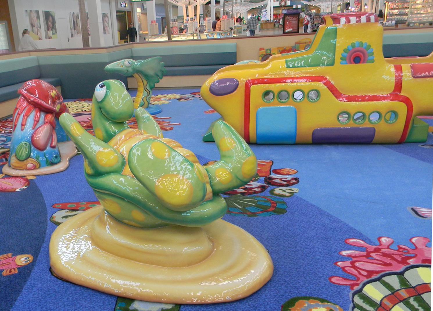 Playmouth Meting Mall Turtle Closeup
